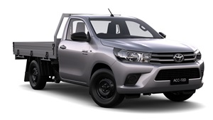 2015-WorkMate 4X2 Single Cab Cab Chassis Glacier White