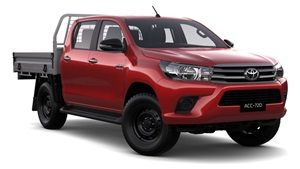 2015-SR 4X4 Double Cab Cab Chassis Olympia Red