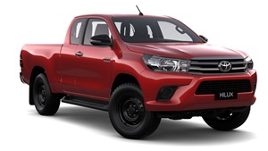 2015-SR 4X4 Extra Cab Pick Up Olympia Red