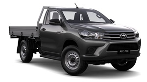 2015-WorkMate 4X4 Single Cab Cab Chassis Eclipse Black