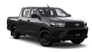 2015-WorkMate 4X2 Double Cab Pick Up Graphite