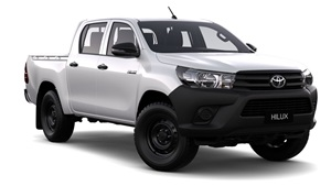 2015-WorkMate 4X4 Double Cab Pick Up Glacier White