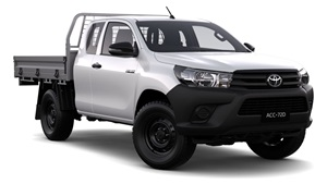 2015-WorkMate 4X4 Extra Cab